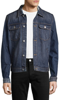 BLK DNM 15 Distressed Denim Jacket