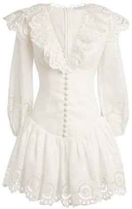 Zimmermann Bellitude Scalloped Dress