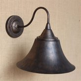 GWY&YFF YFF@ILU Home Deo Amerian antique wall lights minimalist reative outdoor antique ontinental industrial iron bedroom bell wall lights, set. .