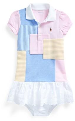 Ralph Lauren Patchwork Polo Dress Bloomer