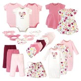 Touched By Nature Touched by Nature Organic Baby Shower Layette Gift Set, 25pc (Baby Girls)
