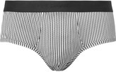 Dolce & Gabbana - Striped Cotton-jersey Briefs
