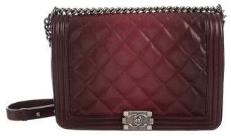Chanel Ombré Large Boy Flap Bag
