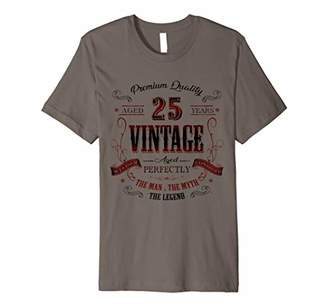IDEA 25th birthday gift for Vintage 25 years old party Premium T-Shirt