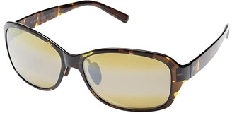 Maui Jim Koki Beach (Universal Fit) (Olive Tortoise/HCL Bronze) Fashion Sunglasses