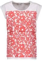 adidas by Stella McCartney Layered Printed Cotton Top