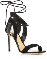 Giorgio Armani Lu Ankle Tie High Heel Sandals