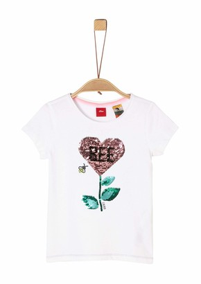 S'Oliver Girls' 403.10.004.12.130.2022337 T-Shirt