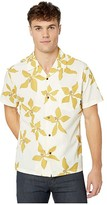 Quiksilver Waterman Falling Blossom (Antique White) Men's Clothing