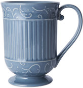 Mikasa Italian Countryside Accents Scroll Blue Mug