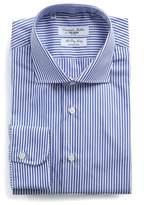 Emanuele Maffeis + Todd Snyder Banker Stripe Wrinkle Free Dress Shirt