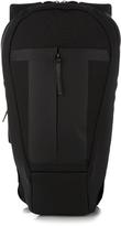 Y-3 Logo-embossed oval backpack