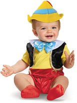 Disguise unisex-baby Pinocchio Infant Costume