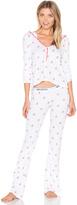 Wildfox Couture Raining Gingerbread Pajama Set