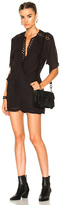 IRO Geda Romper in Black.