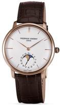 Frederique Constant Slim Line Moonphase Rose Gold Watch, 42mm