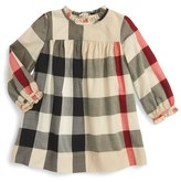 Burberry 'Pippie' Check Print Dress (Baby Girls)