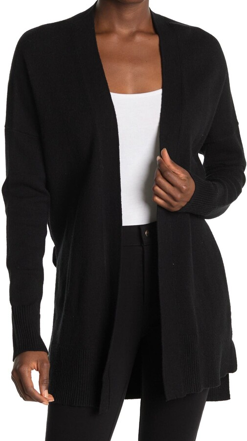 Laundry by Shelli Segal Long Open Front Cardigan Sweater