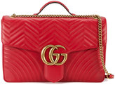 Gucci marmont maxi shoulder bag - women - Leather/metal - One Size