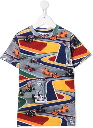 Molo racing print T-shirt
