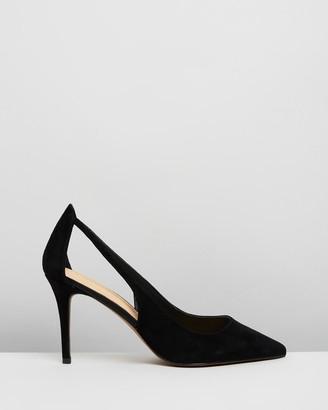 Atmos & Here Allegra Leather Heels