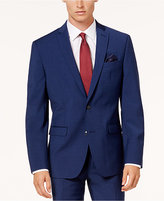 Bar III Men's Slim-Fit Active Stretch Solid Navy Suit Jacket, Created for Macy's