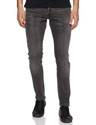 Scotch & Soda Men's Ralston Straight Jeans, (Just Move It Black 2652), W33/L34 (Size: 33/34)