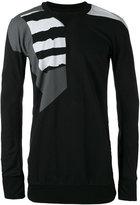 11 By Boris Bidjan Saberi patterned sweater - men - Cotton - S