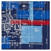 Turnbull & Asser Construction Plan Pocket Square