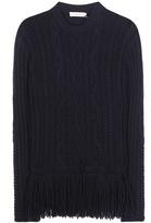 Tory Burch Valero Fisherman Wool-blend Sweater