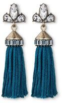 SUGARFIX by BaubleBar Tassel Earrings with Crystal