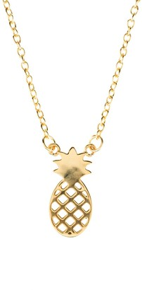 Latelita Pineapple Necklace Gold