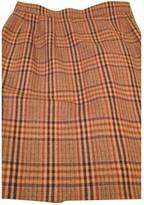 Saint Laurent Orange Wool Skirts