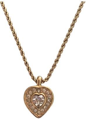 Christian Dior Gold Metal Pendants