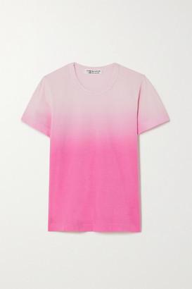 Comme des Garçons Comme des Garçons Cotton-jersey T-shirt - Pink