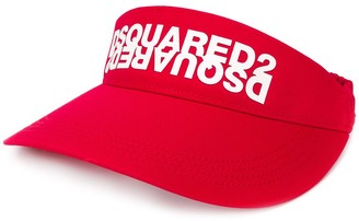 DSQUARED2 printed visor