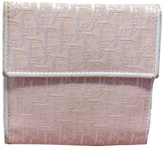 Christian Dior Pink Diorissimo Canvas Girly Wallet