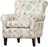 Alcott Hill Wadham Flowered Armchair