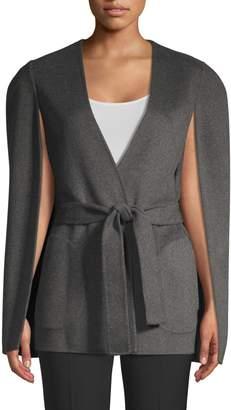 Kobi Halperin Maria Wool-blend Cape Sleeve Coat