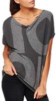 Mint Velvet Icon Slouchy Knitted Top, Dark Grey