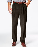 Lauren Ralph Lauren Corduroy Pleated Classic-Fit Dress Pants