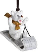 Michael Aram Sledding Teddy Ornament