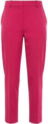 Emilio Pucci Stretch-wool Twill Tapered Pants