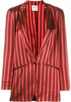 Forte Forte striped blazer - women - Cotton/Polyester/Viscose - III
