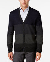 Ryan Seacrest Distinction Men's Lightweight Colorblocked Cardigan, Only at Macy's