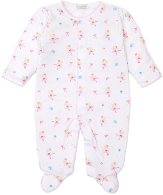 Kissy Kissy Perfect Pirouette Printed Footie Playsuit, Size Newborn-9 Months