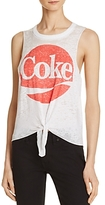 Chaser Tie-Front Graphic Muscle Tee