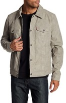 Levi's Faux Suede Laydown Trucker Jacket