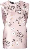 Rochas floral-print blouse