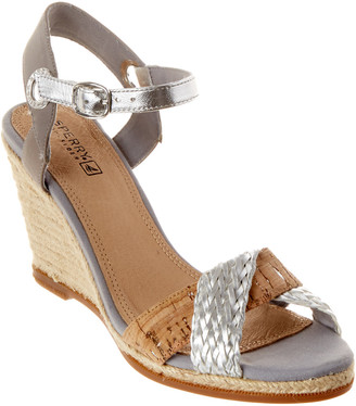 Sperry Saylor Leather Wedge Sandal